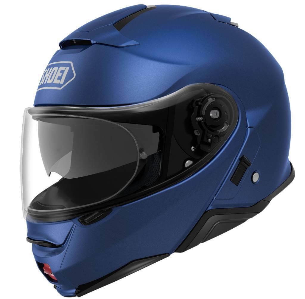 Shoei Neotec 2 Matt Blue Helmet Free Visor Champion Helmets