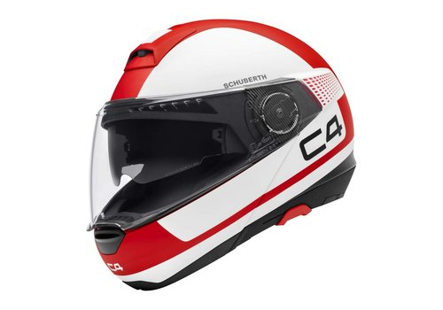 Schuberth C4 Legacy Red White