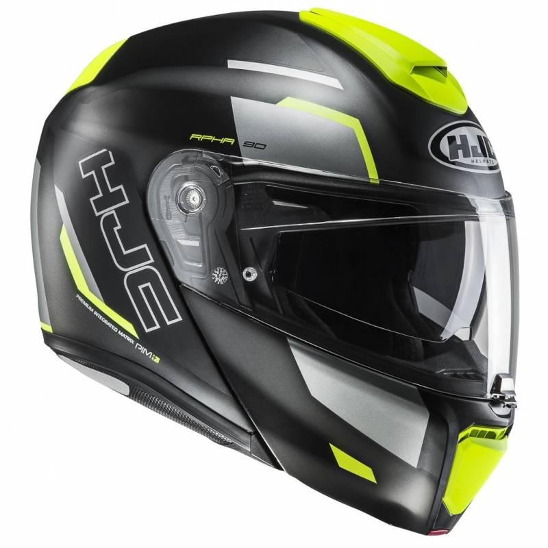 RPHA 90 Rabrigo Helmet Black Yellow
