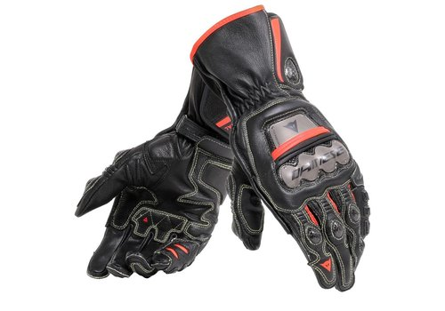 Dainese Full Metal 6 Gloves Black Red