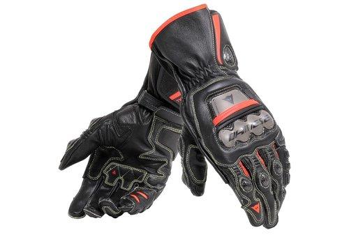 Dainese Full Metal 6 Motorhandschoenen Zwart Rood