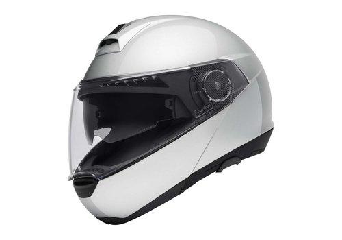 Schuberth C4 Helm Silber