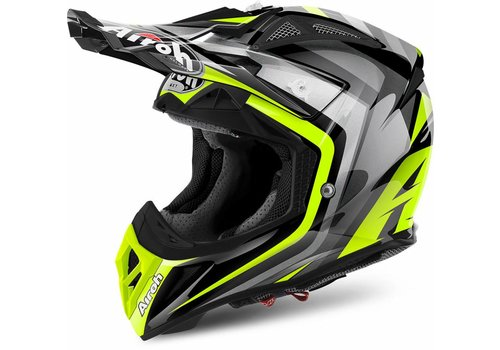 Airoh Aviator 2.2 Warning Yellow Gloss Helm