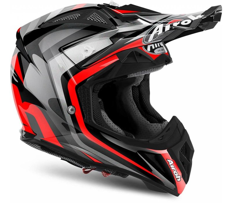 Airoh Aviator 2.2 Warning Red Gloss Helm