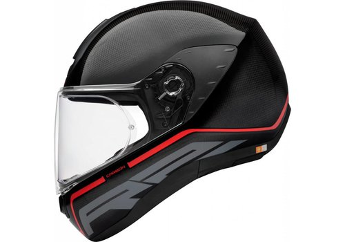 Schuberth R2 Carbon Stroke Red Helm