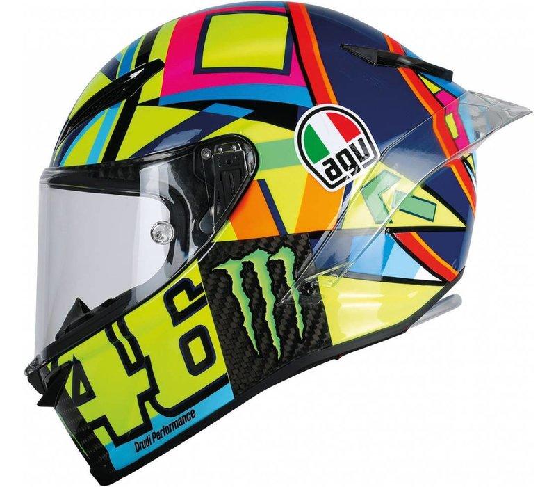 Pista GP R Soleluna 2016 Valentino Rossi Helmet + Free Extra Visor