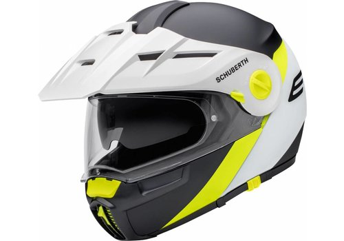 Schuberth E1 Gravity Yellow Helm