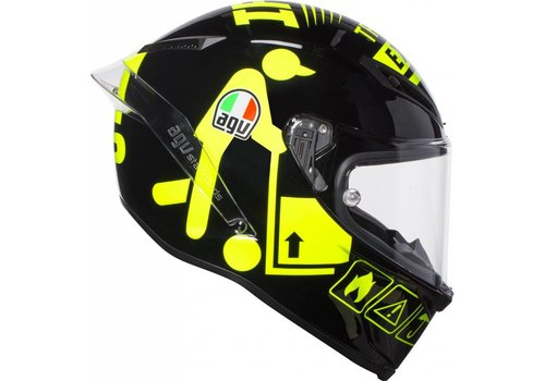 AGV Corsa R Iannone Winter Test 2017 шлем