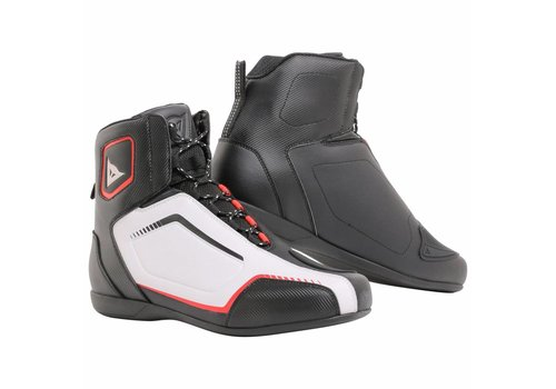 Dainese Raptors Baskets Noir Blanc Rouge