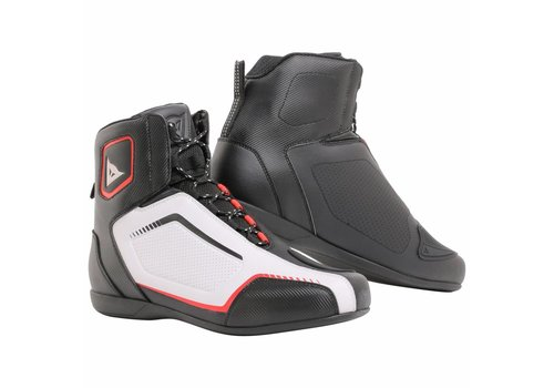 Dainese Raptors AIR Baskets Noir Blanc Rouge