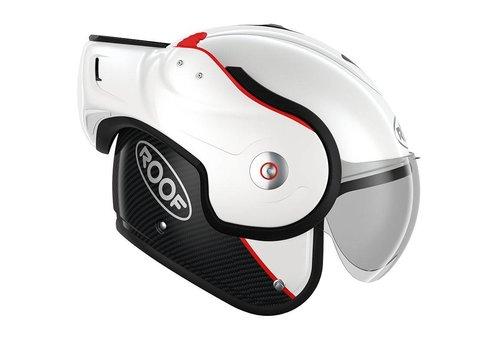 ROOF Boxxer Carbon Modular Helmet White