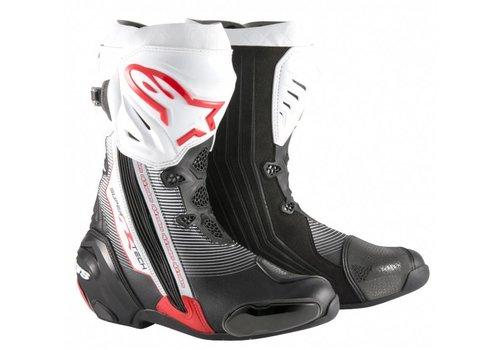 Alpinestars Alpinestars SUPERTECH-R Motorcycle Boots Black Red White