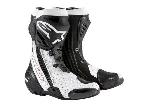 Alpinestars Alpinestars SUPERTECH-R Stivali Nero Bianco Ventilato