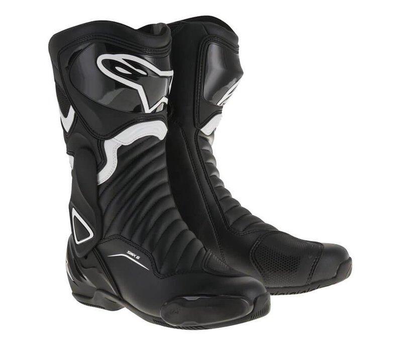 Alpinestars SMX 6 V2  Motorradstiefel  Schwarz Weiß