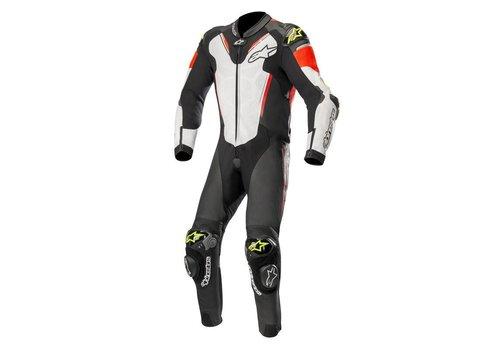 Alpinestars Alpinestars ATEM V3 Leather Suit Black White Red Yellow Fluo
