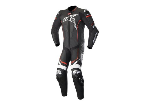 Alpinestars Alpinestars GP Plus V2  1PC Leather Suit Black White Red Fluo