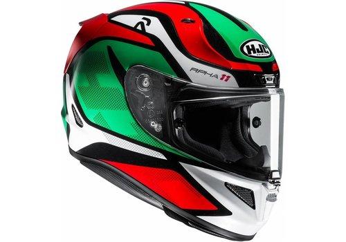 HJC HJC RPHA 11 Deroka Helmet Red Green