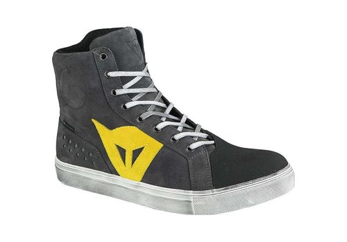 Dainese Dainese Street Biker D-WP Scarpe Antracite Giallo