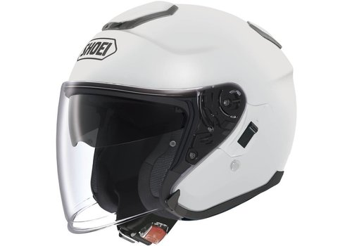 Shoei J-Cruise White Helmet