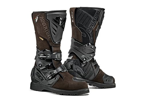 Sidi Adventure 2 Goretex Motorlaarzen - Black Brown