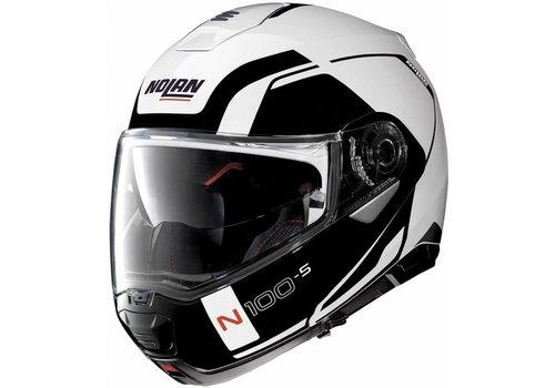 Nolan Nolan N100-5 Consistency N-Com Schwarz Weiß Helm
