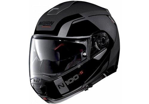 Nolan Nolan N100-5 Consistency N-Com Schwarz Grau Helm