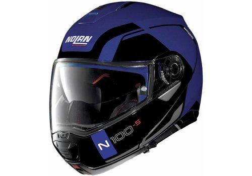 Nolan Nolan N100-5 Consistency N-Com Schwarz Blau Helm
