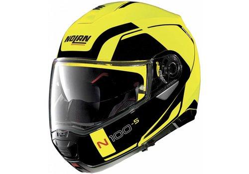 Nolan Nolan N100-5 Consistency N-Com Zwart Geel Helm