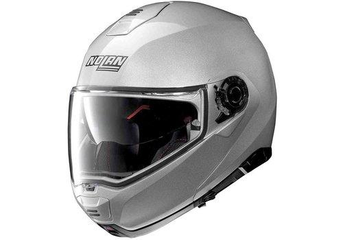 Nolan Nolan N100-5 Classic N-Com Silber Helm