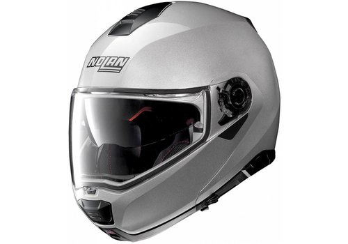 Nolan Nolan N100-5 Special N-Com Salt Silver Helmet