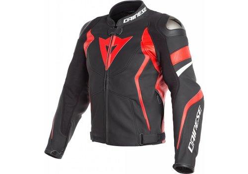Dainese Кожаные куртки Dainese Avro 4 черный красный