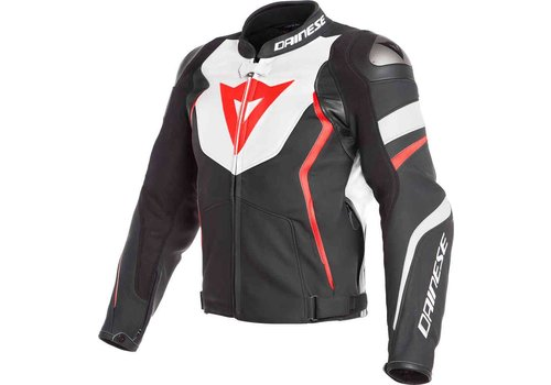 Dainese Dainese Avro 4 leather Jacket Black White Red