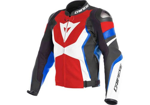 Dainese Dainese Avro 4 leather Jacket Red White Black