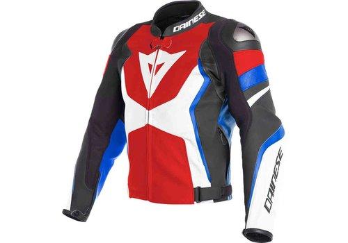 Dainese Кожаные куртки Dainese Avro 4 красный белый черный
