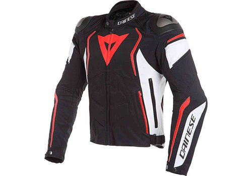 Dainese Dainese Dyno Tex Jacket Black White Red