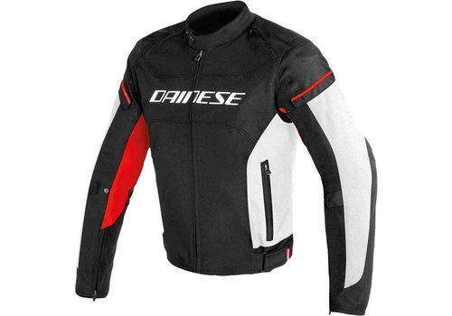 Dainese Dainese D-frame Tex Jacket Black White Red