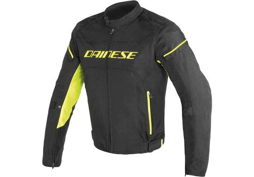 Dainese Dainese D-frame Tex Jacket Black Yellow Fluo