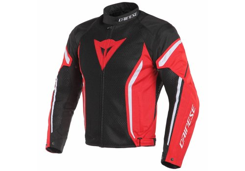 Dainese Giacca Dainese Air crono 2 Tex Nero Rosso Bianco