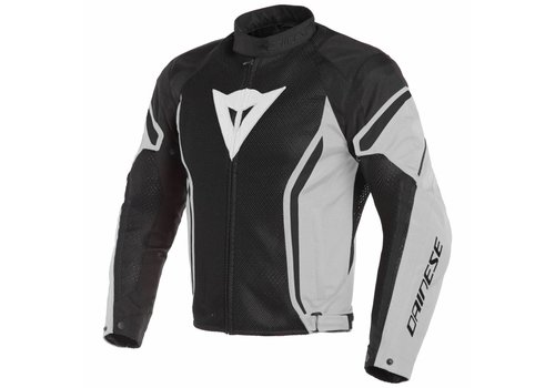 Dainese Dainese Air crono 2 Tex Jacket Black White Grey