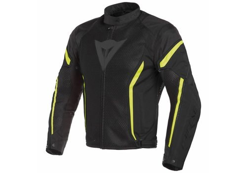 Dainese Dainese Air crono 2 Tex Jacket Black Yellow Fluo