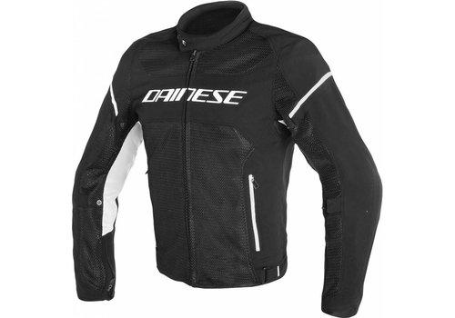 Dainese Dainese Air frame D1 Tex Motorjas Zwart Wit