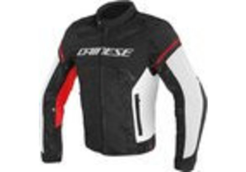 Dainese Giacca Dainese Air frame D1 Tex Nero Bianco Rosso