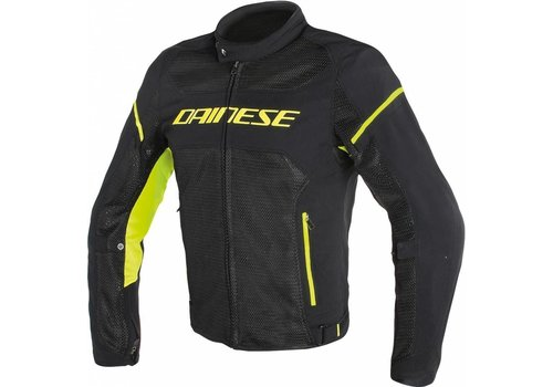 Dainese Dainese Air frame D1 Tex Jacket Black Yellow Fluo