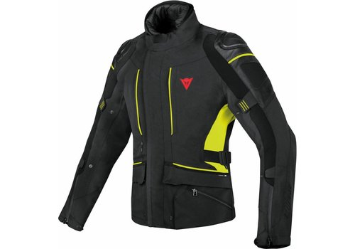 Dainese Chaqueta Dainese D-Cyclone Gore-Tex Negro Amarillo Fluo
