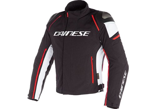 Dainese Dainese Racing 3 D-Dry Jas Zwart Wit Rood