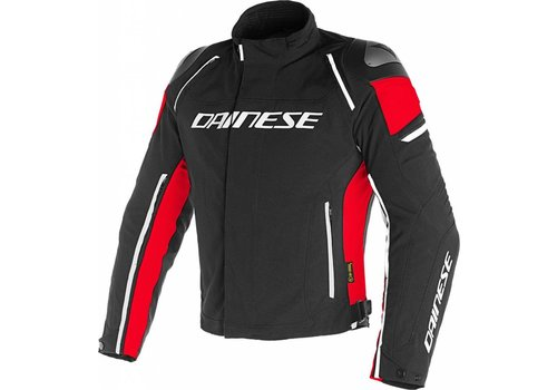 Dainese Chaqueta Dainese Racing 3 D-Dry Negro Rojo