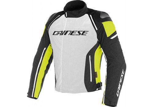 Dainese Chaqueta Dainese Racing 3 D-Dry Gris Amarillo Fluo