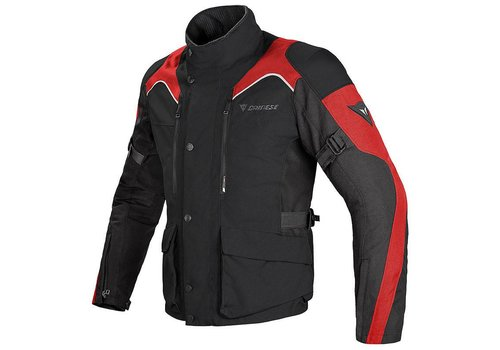 Dainese Chaqueta Dainese Tempest D-Dry Negro Rojo