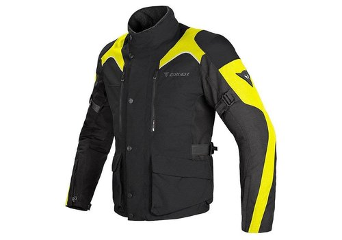 Dainese Dainese Tempest D-Dry Jacket Black Yellow Fluo