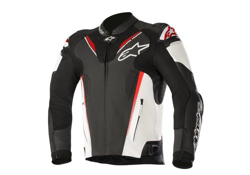 Alpinestars Alpinestars Atem V3 leather Jacket Black White Red